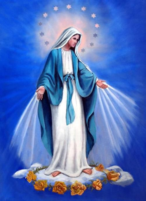 """Virgin Mary, Queen of Heaven and Earth, pray for us! Amen!"""