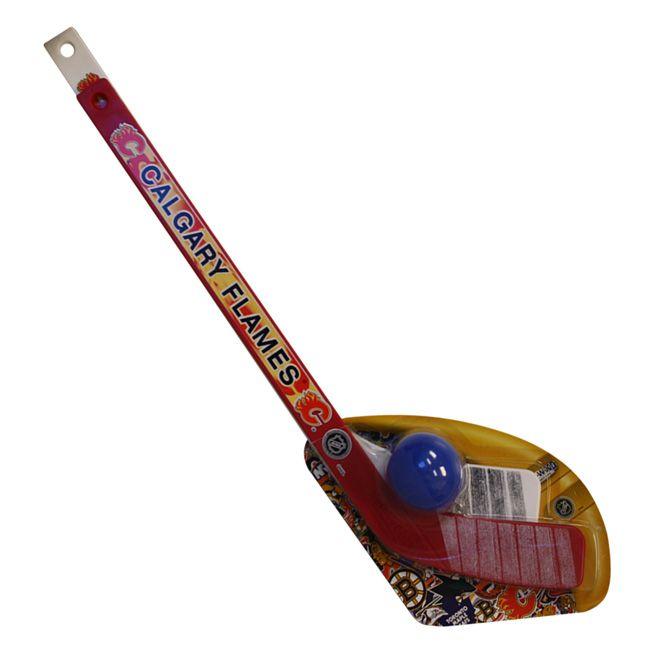 Buy Calgary Flames 1 On 1 Mini Hockey Stick Set #Goalie