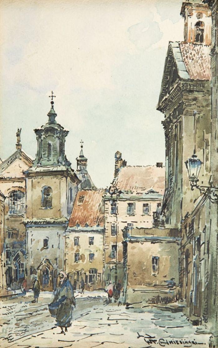 Władysław Chmieliński - Widok Warszawy