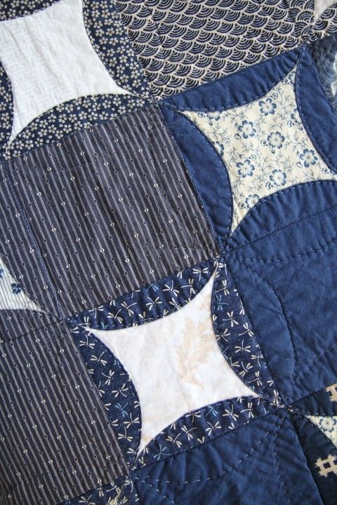 Japanese Coins Quilt by TetrisQuilts on Etsy