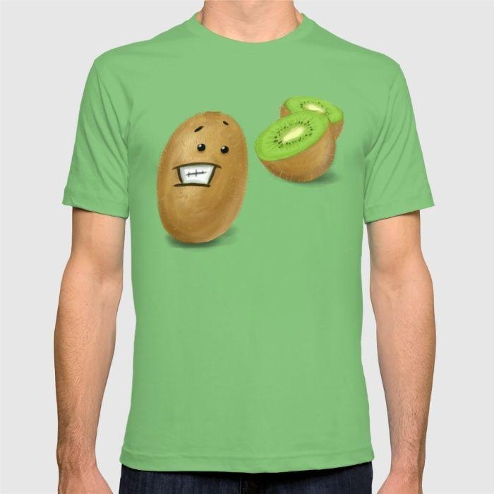 qiwi cut accident T-shirt
