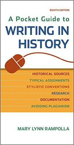 21 best best textbook deals images on pinterest school textbook a pocket guide to writing in history mary lynn rampolla 9781457690884 amazon fandeluxe Gallery
