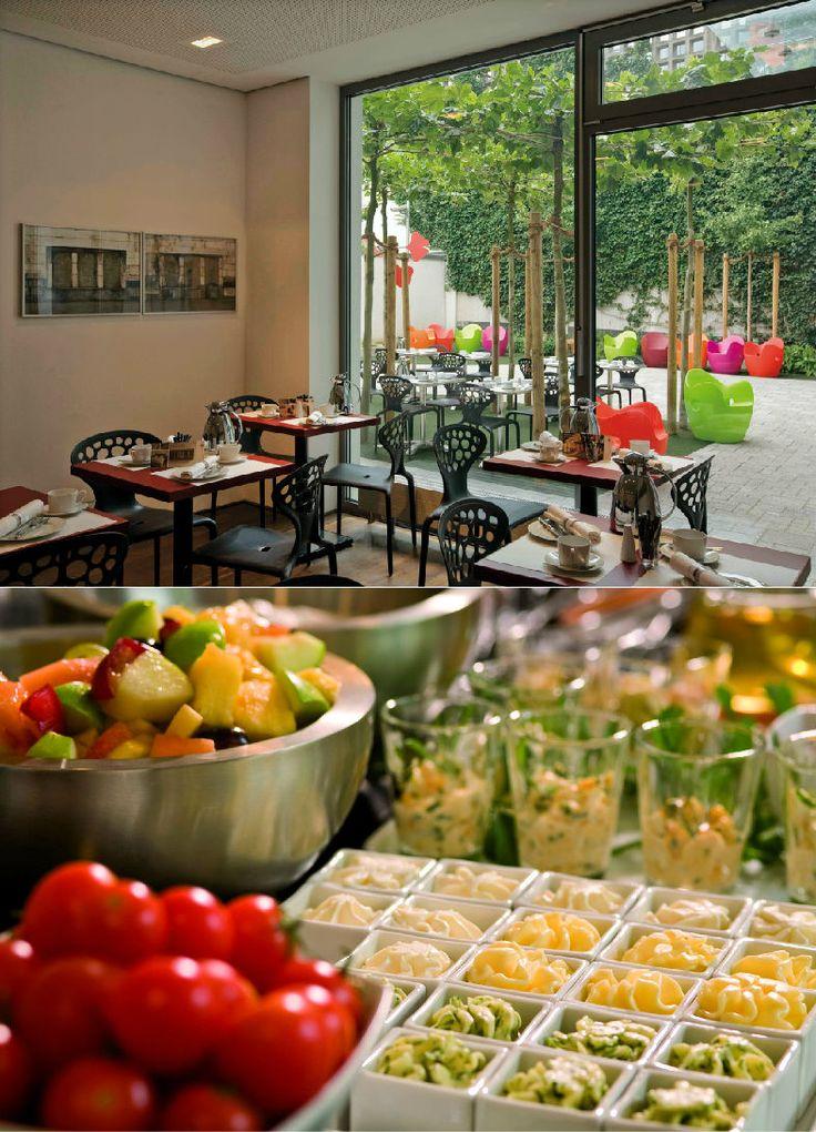 Art  Businness Hotel | Art  Design Hotel | Germany | http://lifestylehotels.net/en/art-business-hotel | Restaurant, Food, vegetables