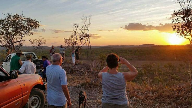 We've got another motorhome tour from Darwin to Brisbane taking in many fabulous locations. The first night was a huge highlight at Mt Bundy station. We all enjoy a 4WD sunset tour and BBQ around the campfire. We learnt loads about life on a station and in the NT plus saw plenty of WWII history. And what a stunning sunset! #mtbundy #gallivanitngoz #NTAustralia