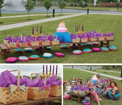 Santo Bom Gosto: Inspiração: A Picnic Party - Uma Festa ao ar Livre