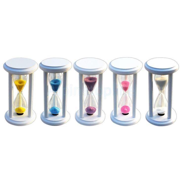 1, 3, 5,10,15 Minute Sand Timer Teaching Games Teeth Brushing Timing Hourglass