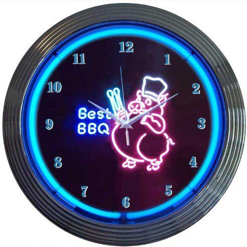 Die besten 25 Neon clock Ideen auf Pinterest VintageKoks