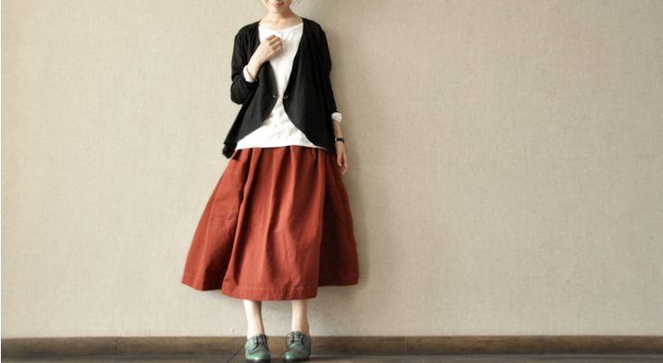 Sun Skirt Women clothes Daily leisure joker Linen Maxi Comfortable and soft Cotton Linen Women Clothes