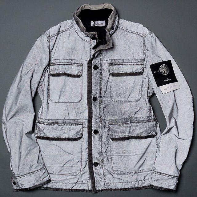 Fancy - Liquid Reflective Jacket by Stone Island