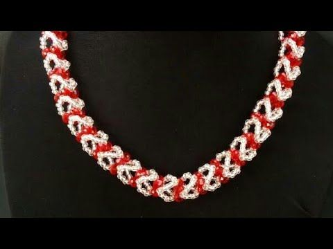 DIY/Easy Tutorial On How To Make A Bead Jewelry Design - YouTube