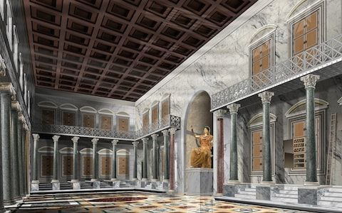 Virtual reality goggles unlock splendour of huge ancient Roman baths complex