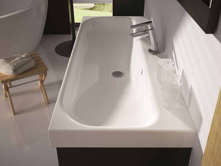 Umywalka LUNA. ceramic washbasins LUNA. #elita #meble #lazienka #barcelona #bathroom #furniture