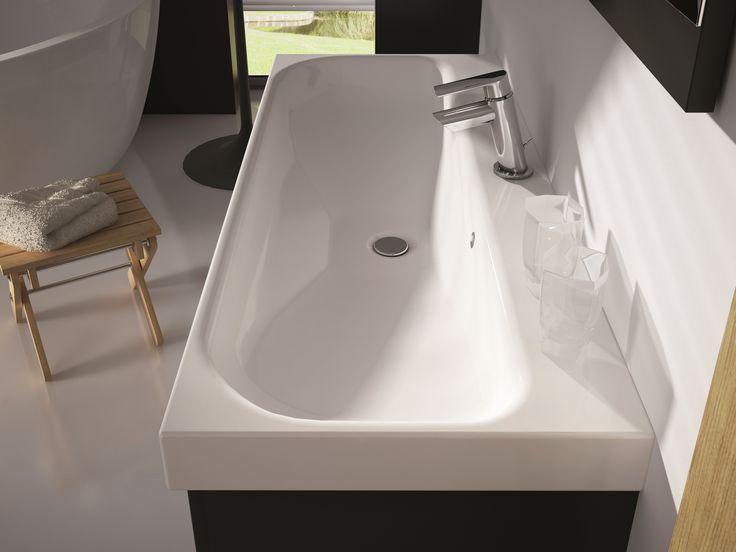 Umywalka LUNA. ceramic washbasins LUNA. #elita #meble #lazienka #barcelona #bathroom #furniture