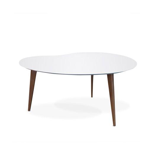 Dining Table For Small Spaces Extendable Adler By Draenert: Jonathan Adler Small Okura Kidney Table In Casegoods