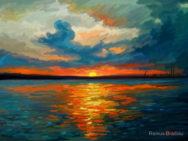 """Sunset Impression"" Photographic Prints by Remus Brailoiu 