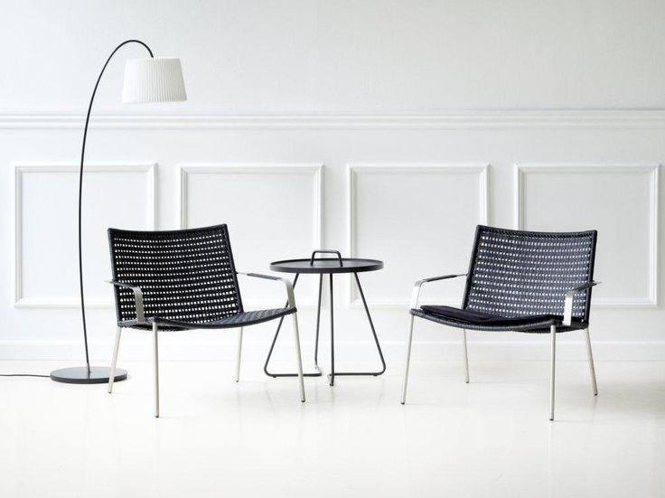 STRAW LOUNGE fotele wyplatane. Design: Fowersom & Hiort-Lorenzen MDD dla Cane-line