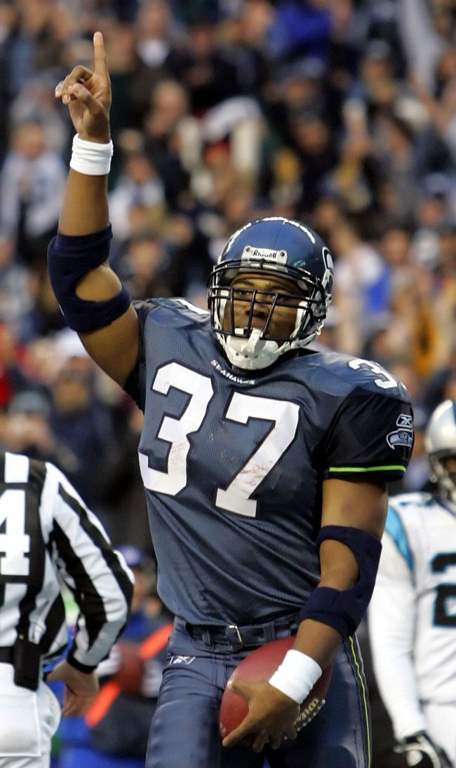 Shaun Alexander - Seattle Seahawks - RB