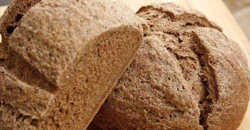 Russian Rye Bread Made With Organic Dark Rye Flour