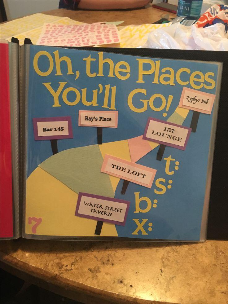 Shot book page idea. Dr Seuss. #21 #shotbook