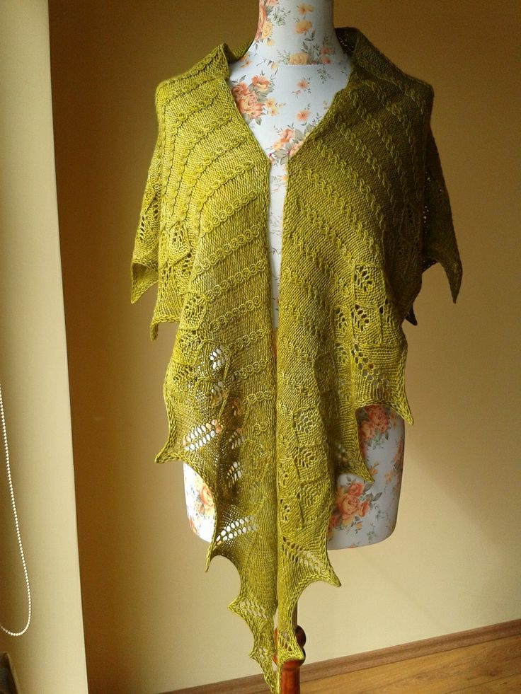 """His Golden Lair"" -pattern by Kourtney Robinson. Yarn-Malabrigo Finito. I love it!"