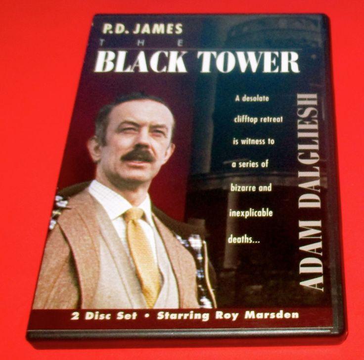 P.D. James - The Black Tower DVD 2 Discs Roy Marsden, Art Malik, Pauline Collins #P.D.JamesTheBlackTower #mystery #drama #Dvd #roymarsden http://www.ebay.com/usr/vinylrockretro?rt=nc