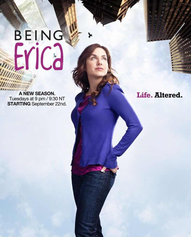 Being Erica. Time travel therapy...who knew?
