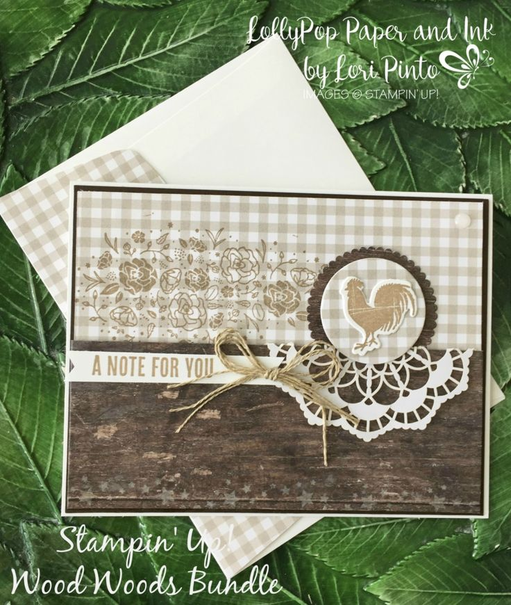 Well, today is the first of a Monday series that I'm calling… So every Monday, I will have a card using a monochromatic color scheme using various stamp sets and ink colors! Today, I a…