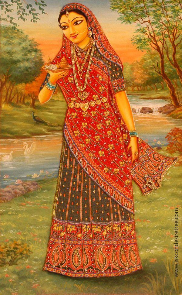 The Asta Sakhis- Rangadevi