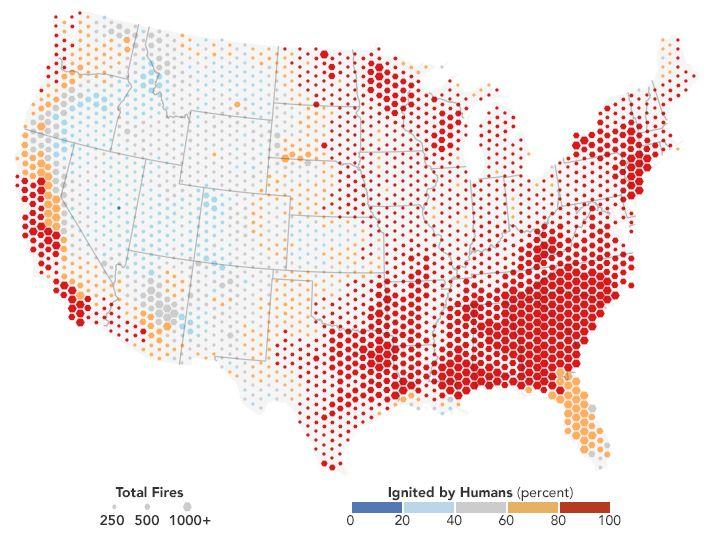 Best Data Visualization Images On Pinterest Data - Us map data visualization