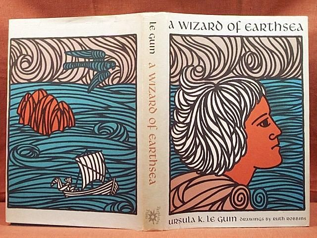 A Wizard of Earthsea by Ursula Le Guin.  Published by Parnassus Press in 1968.