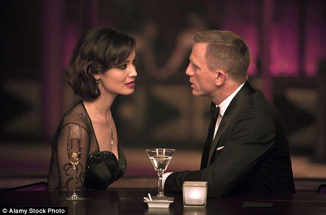 Daniel Craig, shown here in 2012's Skyfall, is the booziest James Bond by a considerable m...
