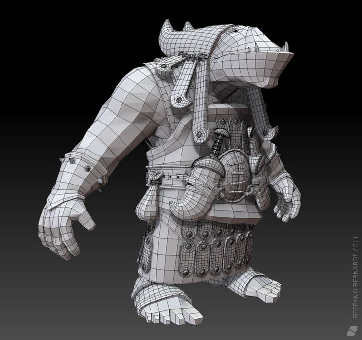 Orc Scout - Stefano Bernardi - 3D Artist