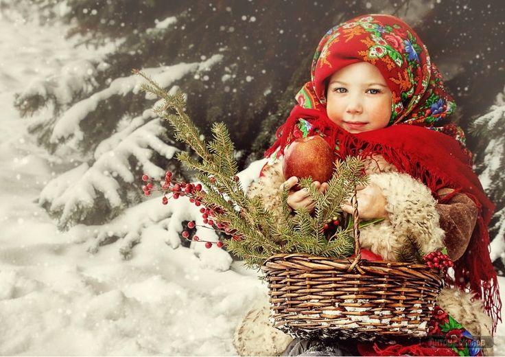 Зимние фотосессии.