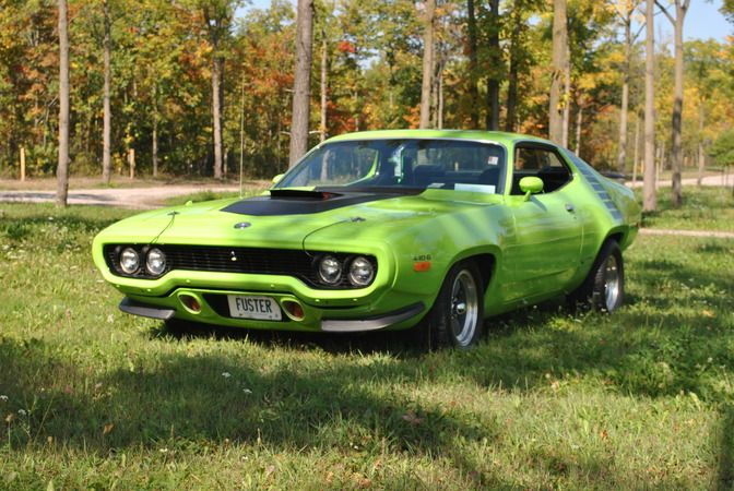 ◆1972 Plymouth Road Runner 440 (6 pack)◆