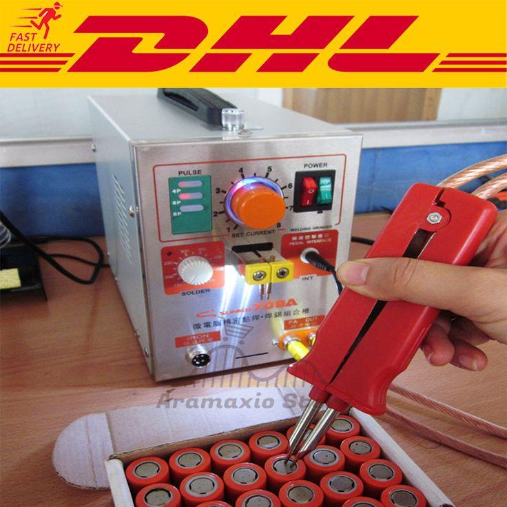 709A Pulse Spot Welder Welding Soldering Machine for Battery Packs 1.9kw220V DHL #UnbrandedGeneric