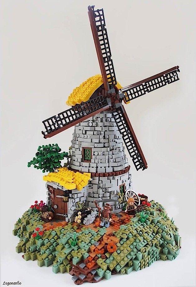 Faszinierende Fantasy-Lego-Welten von Legonardo Da…