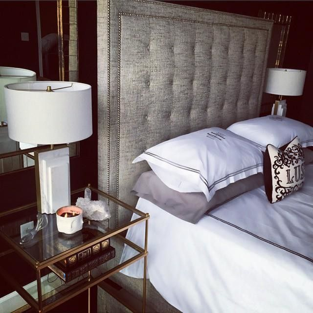 West Elm Lamp. Maybe switch out the bedroom lamps and put them downstairs