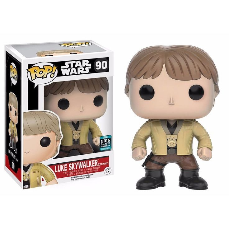 Funko POP! Star Wars LUKE Ceremony 2016 Galactic Convention #90