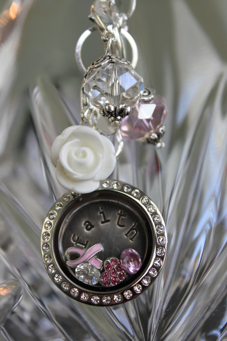 37 best origami owl locket creations images on pinterest i put this origami owl locket together for breast cancer awareness and all loved ones that jeuxipadfo Images