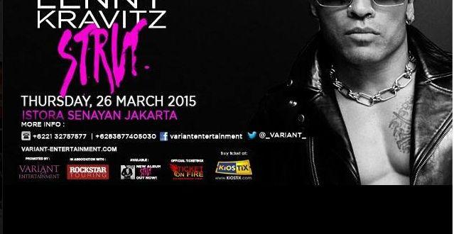 KONSER LENNY KRAVITZ STRUT TOUR LIVE IN JAKARTA | Tempatnya Promosi dan Diskon