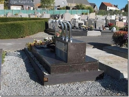 Unusual head stone - not sure if he was a bar tender or just liked to drink at the bar.