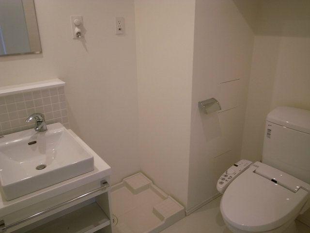 「賃貸 デザイナーズ トイレ 洗面」の画像検索結果