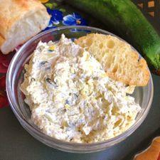 Creamy Artichoke-Zucchini Dip: King Arthur Flour unbelievable flavor and it's healthy!   :  )