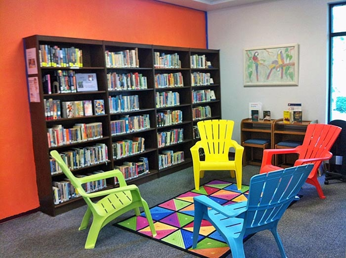 New Young Adult/Teen Area at the Mary Esther Public Library
