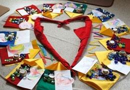 un cuore per la festa della mamma da www.kigaportal.com
