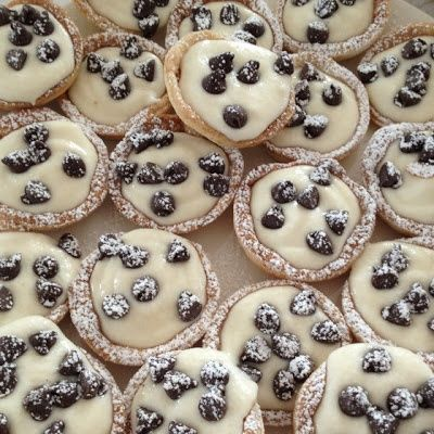 Mini Canoli Cups - I just had some of these at a baby shower at work - all I can say is OMG!  They are so good adn so worth having as a regular in my baking routine!!.