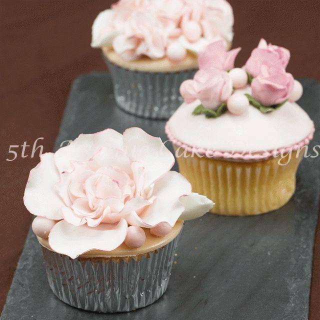 cómo hacer la pasta de flor romántica acolchados rosa