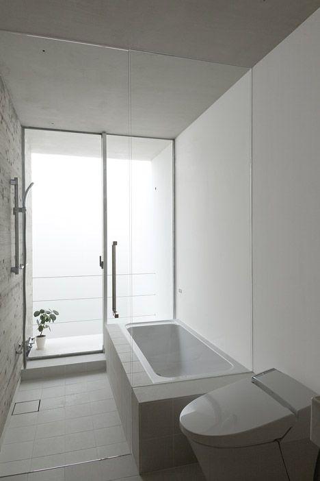 Regadera De Baño In English:By House T Tsukano Architect Office