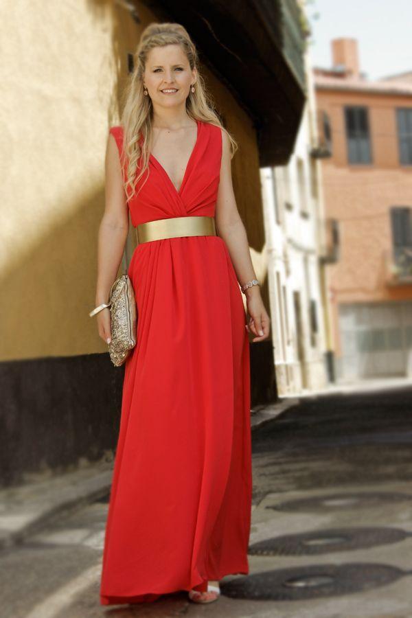 Vestido de noche diseño Cecilia Olocco