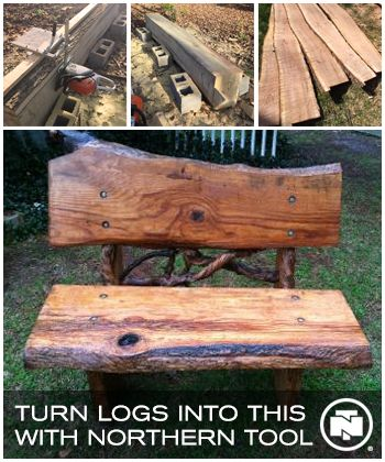 Turn logs into lumber with chainsaw mills from Northern Tool. No drilling required - just bolt onto the chainsaw bar and start working.